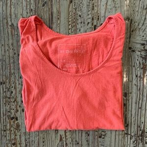 🌟2 for $10!!! Free People High Low Orange Tee